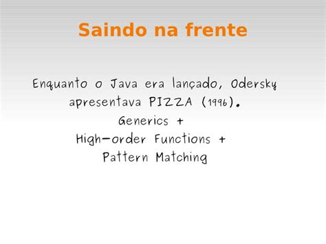 scala pattern matching partial functions scala uma breve breve mesmo introdu 231 227 o