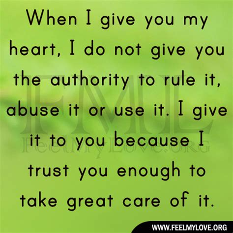I Give My To You abuse quotes pictures images
