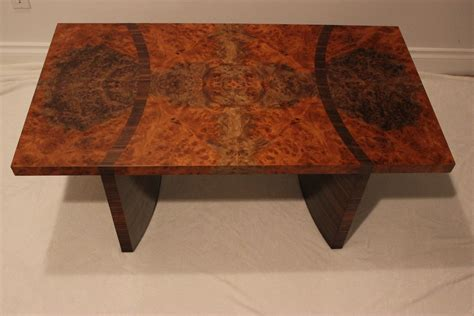 custom made coffee tables custom walnut burl coffee table by riley s custom cabinets custommade com