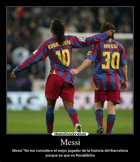 imagenes amistad de futbol messi desmotivaciones