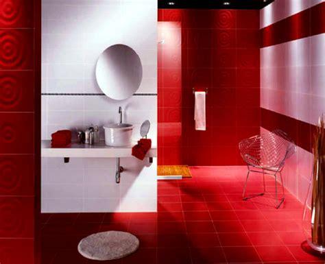 small red bathroom ideas casa de banho vermelha design decora 231 227 o remodela 231 227 o