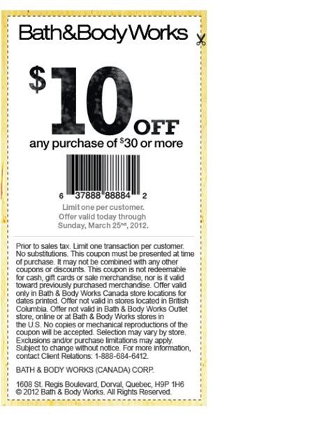Bed Bath Works Coupons by Bath And Works Coupons Printable 10 30 Gordmans