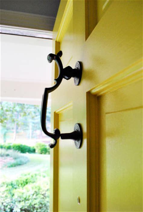 spray paint exterior door how to upgrade your brass door knobs with spray paint