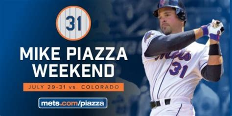 m piazza bobblehead mets to retire mike piazza s no 31 this summer at citi