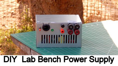 how to make a bench power supply diy bench power supply with old computer smps