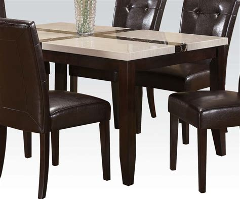 7 pc acme vienna dining set 7 pc acme justin dining set