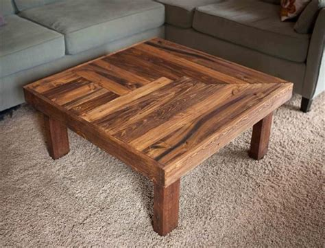 Wood Coffee Table Diy Pallet Wooden Coffee Table Design Pallet Furniture Plans