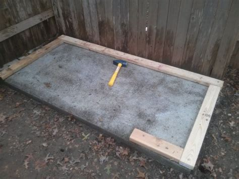 Laying A Shed Base by Samuel Guide To Get How To Lay A Shed Base With Paving Slabs