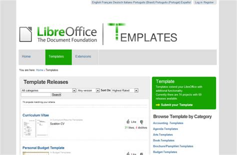 Libreoffice Flyer Templates