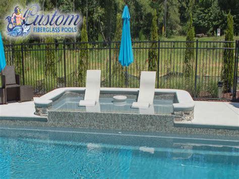 fiberglass tanning ledges fiberglass pools  spas