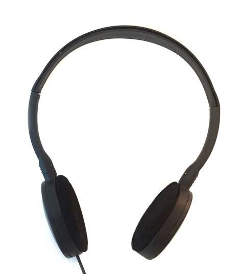 Headphone Flat Enc 56 Flat Stereo Headphones With Foam Earpads