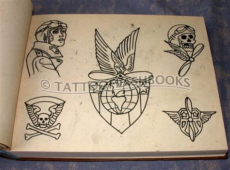 flash from the bowery classic tattooflashbooks studio design gallery photo