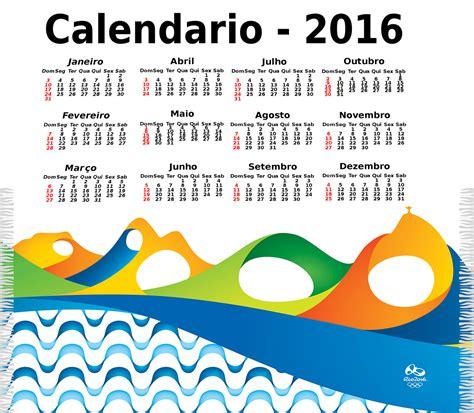Calendario G F 2016 Not 237 Cias Ponto Olimp 205 Adas 2016 Calend 193 Do Ano