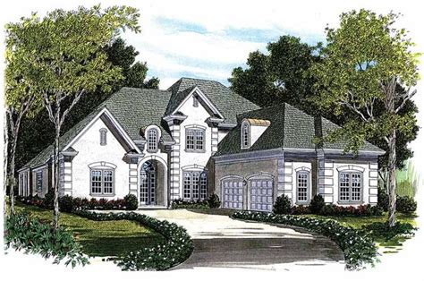 eplans new american house plan distinctive arches in 184 best images about 300 000 dream house plans on