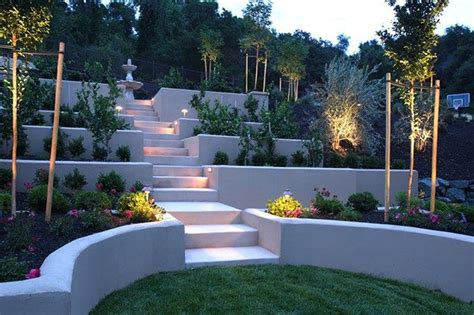 Terraced Backyard Landscaping Ideas Amazing Ideas To Plan A Sloped Backyard That You Should