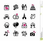 16 Web Icons Set  Wedding Stock Vector Image Of Camera