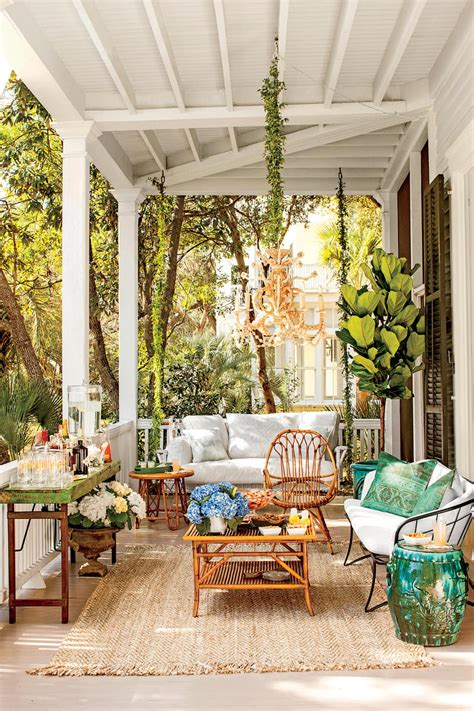 southern living home decor party porch party tips southern living
