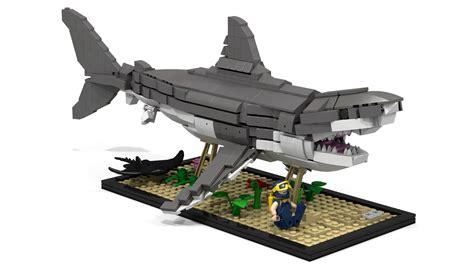 Printer Stand Ideas Lego Ideas Great White Shark