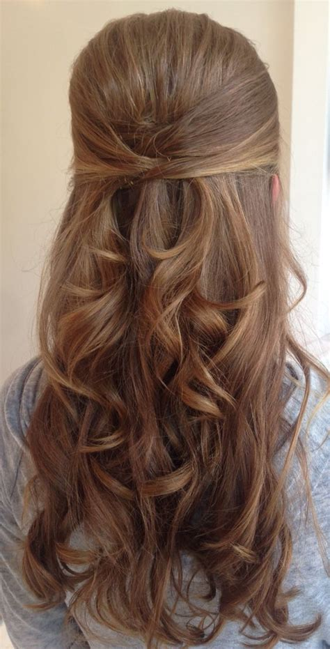 easy down hairstyles best 25 wedding hairstyles half up half down ideas on
