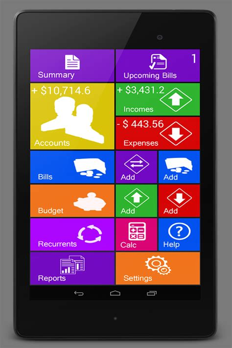 home budget manager lite android apps on play