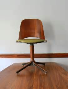 Vintage Desk Chair Swivel Plycraft Swivel Desk Chair Mid Century Modern