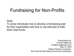 fundraising for non profits william paterson non profit