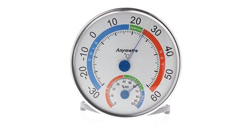 Thermo Hydrometer Anymetre 6 67 anymeter th101e indoor outdoor thermo hygrometer white at fasttech worldwide free