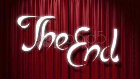 imagenes en title html closing red curtain with a title quot the end quot footage 12732443