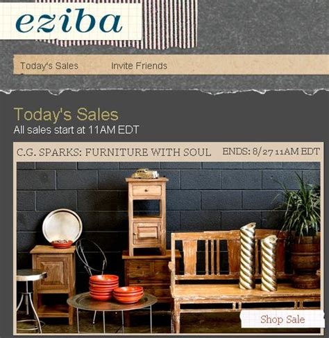 home decor sale sites overstock com launches eziba website for home decor