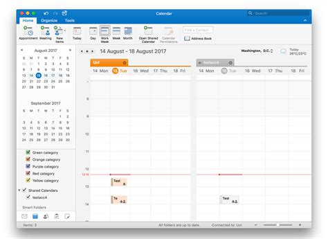 outlook calendar 2016 view another person s calendar in outlook 2016 for mac