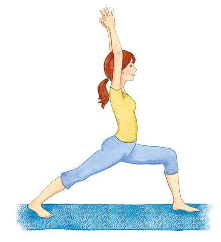 imagenes ejercicios yoga guerrero