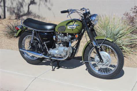 wayne s triumph motorcycles for sale original 1970 triumph tr6r tiger 12 000
