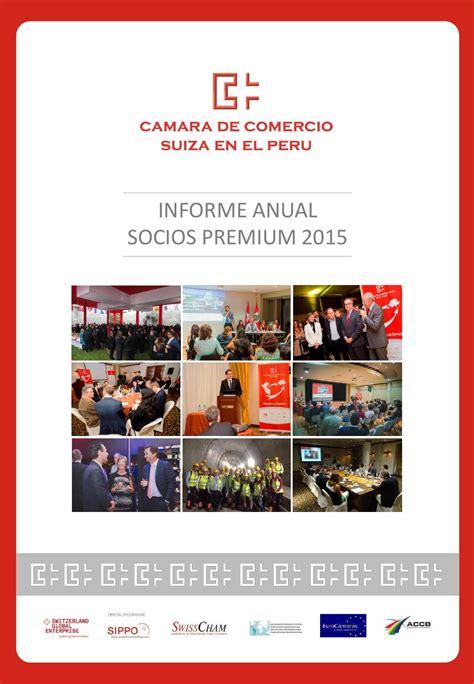 informe de pagamentos qualicorp 2015 informe socios premium 2015 by c 225 mara de comercio suiza en
