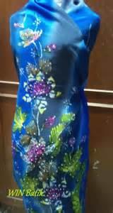 Wina Batik batik crepe 1st batch win batik terengganu