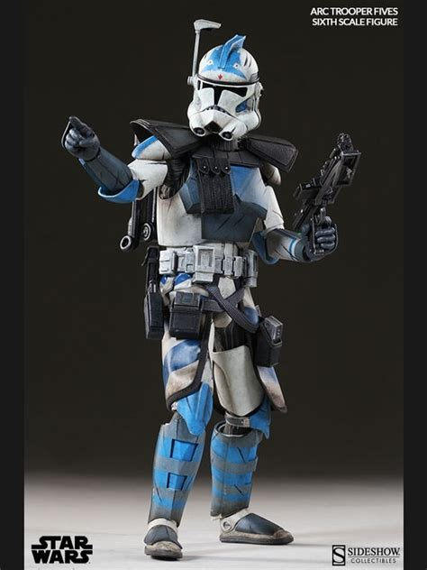 fives arc clone trooper phase ii armor sixth scale figur