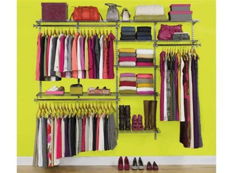 Rubbermaid Deluxe Closet Kit by Rubbermaid Configurations Custom Closet Deluxe Kit Experience