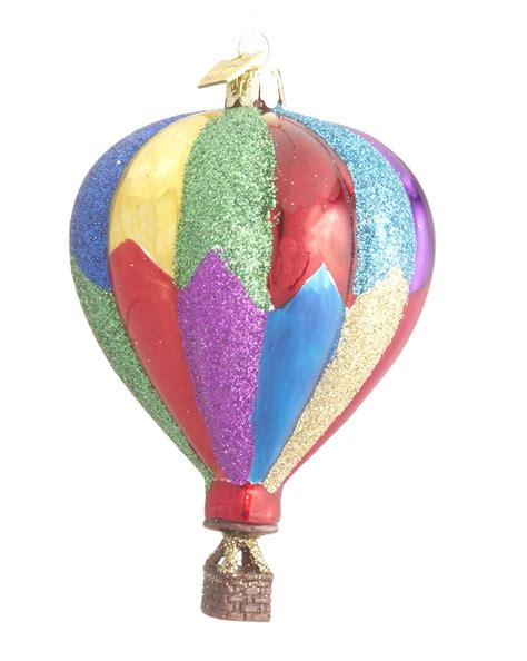 hot air balloon colorful christmas ornament activities