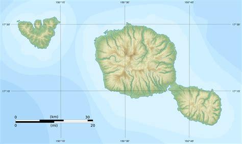 fichiertahiti  moorea topographic map blanksvg