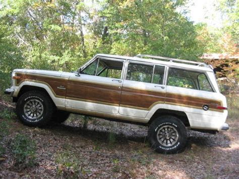 1984 Jeep Grand Wagoneer Specs 84gw360 1984 Jeep Grand Wagoneer Specs Photos