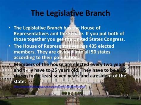 what are the two houses of the legislative branch three main branches of government