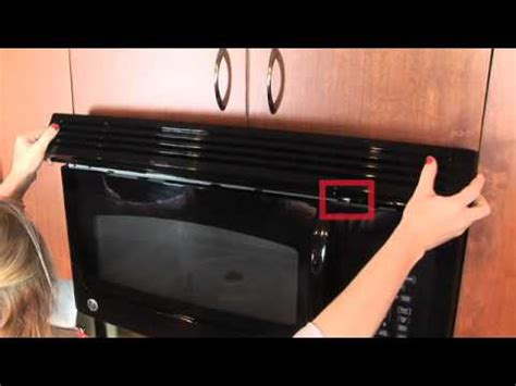 kenmore vent light cover microwave charcoal filter replacement
