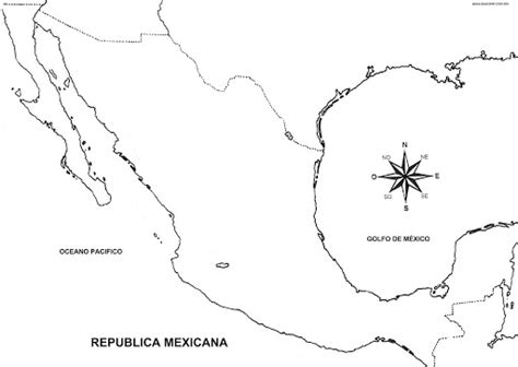 mexico map coloring pages coloring pages september 2009