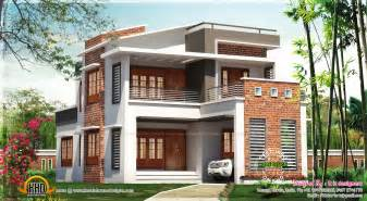 Average Cost Of A Modular Home brick mix house exterior design kerala home design and