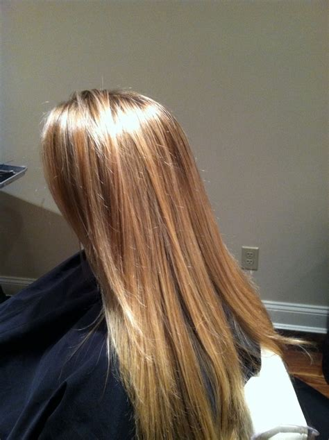 multicolour highlights multi highlighted hair pictures multi blonde highlights