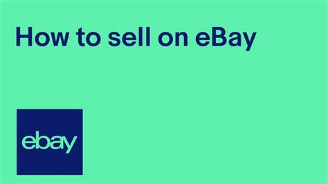 How To Sell On Ebay by How To Sell On Ebay Official Uk