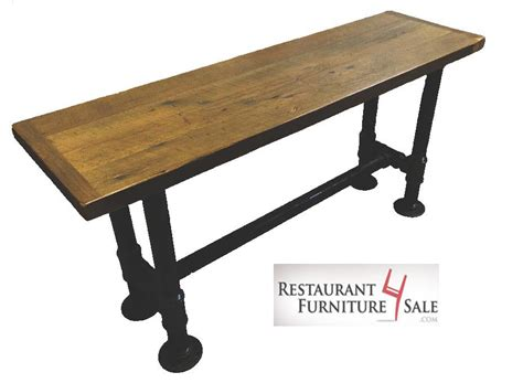 Table Supports by 2 Quot Black Iron Pipe Restaurant Table Base Supports A 30