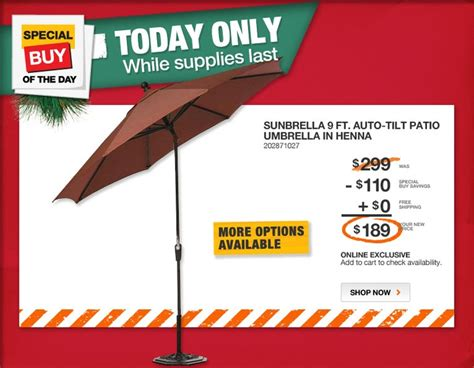 today s special buy at the home depot deals coupons