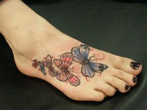 small butterfly tattoo on foot top 10 best foot and ankle designs
