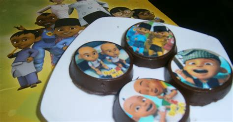 Cetakan Coklat Upin Dan Ipin coklat oreo upin ipin umi s cup cake