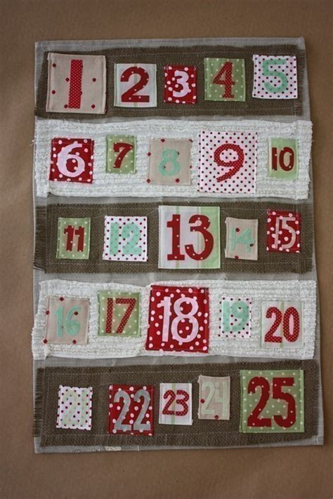 sale funky numbers christmas advent calendar